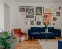 Ania Hora:  To mieszkanie przedstawia podróż przez moje życie
